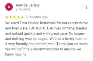 removalist review